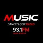 Logo da emissora Music 93.1 FM