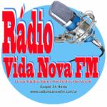 Logo da emissora Rádio Vida Nova FM