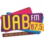 Logo da emissora Rádio UAB 87.5 FM