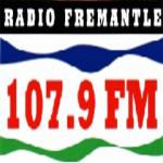 Logo da emissora Radio Fremantle 107.9 FM