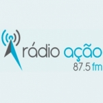 Logo da emissora Rádio Ação 87.5 FM