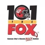 Logo da emissora Radio KCFX 101.1 FM