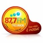 Logo da emissora Rádio 87.7 FM