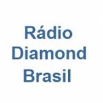 Logo da emissora Rádio Diamond Brasil