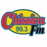 Logo da emissora Rádio Clássica 99.3 FM