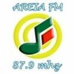 Logo da emissora Rádio Areia 87.9 FM