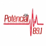 Logo da emissora Potencial FM