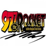 Logo da emissora Radio WMDM The Rocket 97.7 FM