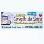 Logo da emissora Rádio Coração da Serra 106.1 FM