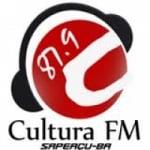 Logo da emissora Rádio Cultura 87.9 FM De Sapeaçu