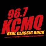 Logo da emissora Radio KCMQ 96.7 FM