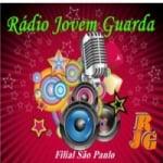 Logo da emissora Rádio Jovem Guarda FM