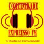 Logo da emissora Comunidade Expressão FM