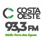 Logo da emissora Rádio Costa Oeste Terra das Águas 93.3 FM