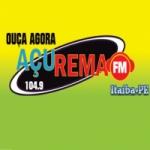 Logo da emissora Rádio Açurema 104.9 FM