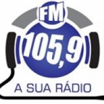Logo da emissora Rádio 105.9 FM