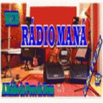 Logo da emissora Web Rádio Maná