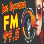 Logo da emissora Rádio Boa Esperança 99.5 FM