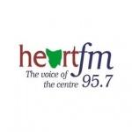 Logo da emissora Radio Heart 95.7 FM