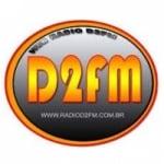 Logo da emissora Rádio D2fm