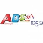 Logo da emissora Rádio ABS FM 105.9