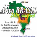 Logo da emissora Webrádio Aviva Brasil