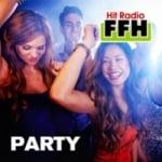 Logo da emissora FFH 105.9 FM Party