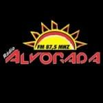 Logo da emissora Rádio Alvorada 87.5 FM