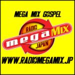 Logo da emissora Rádio Mega Mix Japan Gospel