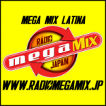 Logo da emissora Rádio Mega Mix Japan Latina