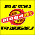 Logo da emissora Rádio Mega Mix Japan Sertaneja