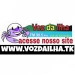 Logo da emissora Rádio Voz da Ilha FM