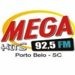 Logo da emissora Rádio Mega Hits 92.5 FM