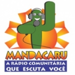 Logo da emissora Rádio Mandacaru Fortaleza