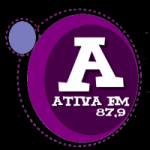 Logo da emissora Rádio Ativa 97.9 FM