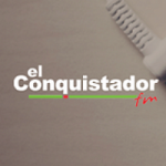 Logo da emissora Radio El Conquistador 98.9 FM
