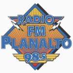 Logo da emissora Rádio Planalto 98.5 FM