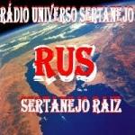 Logo da emissora Rádio Universo Sertanejo