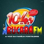 Logo da emissora Rádio Comunitária Arucará 104.9 FM