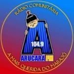 Logo da emissora Rádio  Arucará 104.9 FM