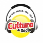 Logo da emissora Rádio Cultura 105.5 FM