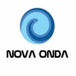 Logo da emissora Rádio Nova Onda FM Birigui SP