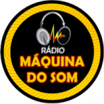 Logo da emissora Rádio Máquina do Som