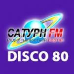 Logo da emissora Radio Saturn Disco 80