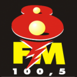 Logo da emissora Rádio 8 FM
