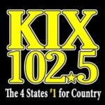 Logo da emissora Radio KIXQ 102.5 FM
