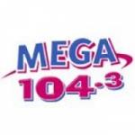 Logo da emissora KAJM 104.3 FM
