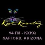 Logo da emissora KXKQ 94.3 FM