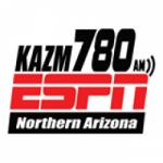 Logo da emissora ESPN 780 AM KAZM
