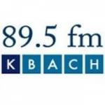 Logo da emissora KBAQ 89.5 FM